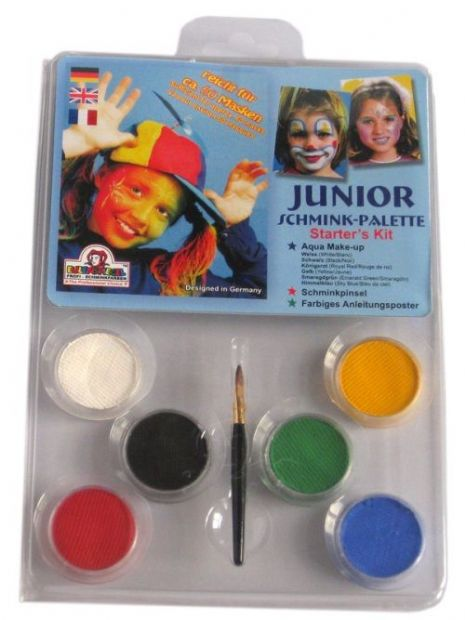 Makeup Designer A Face Pack Junior Make-Up Palt Halloween